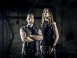 Die Musiker Dan Baune und Sebastian Weiss von Lost Sanctuary