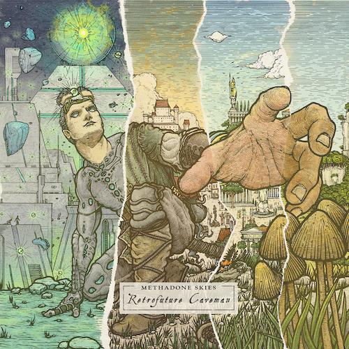 Cover - Methadone Skies – Retrofuture Caveman