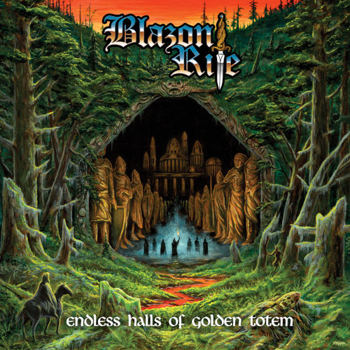 Blazon Rite - Endless Halls Of Golden Totem - Cover
