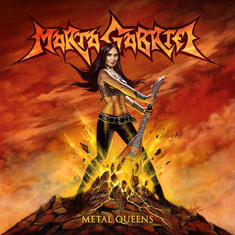 Cover - Marta Gabriel – Metal Queens