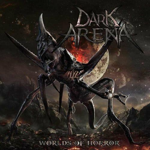 """Das Cover von """"Worlds Of Horror"""" von Dark Arena"""