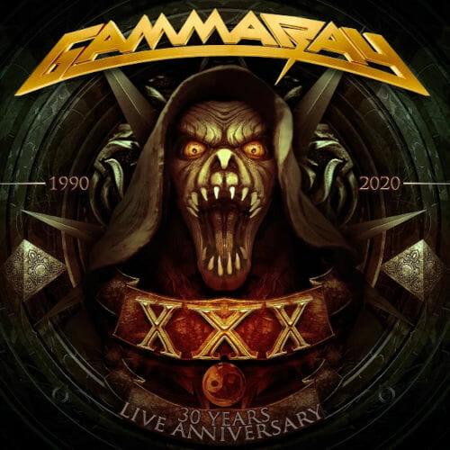 """Das Cover von """"30 Years Live Anniversary"""" von Gamma Ray"""