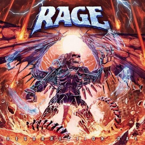 """Das Cover von """"Resurrection Day"""" von Rage"""