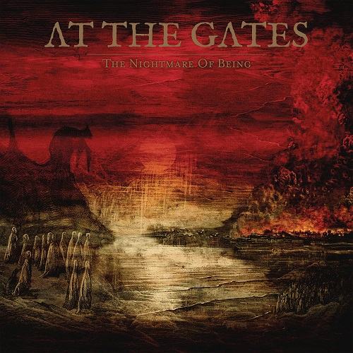 At The Gates - The Nightmare Of Being - CD-Cover