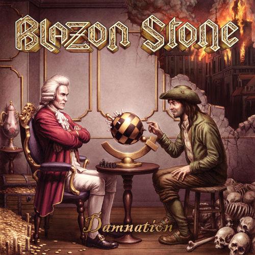 """Das Cover von """"Damnation"""" von Blazon Stone"""