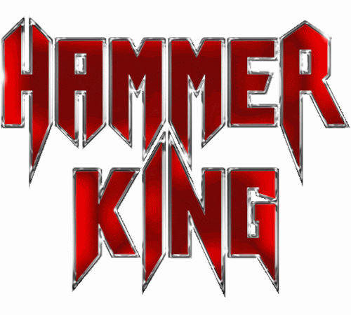 Das Logo der deutschen Power-Metal-Band Hammer King