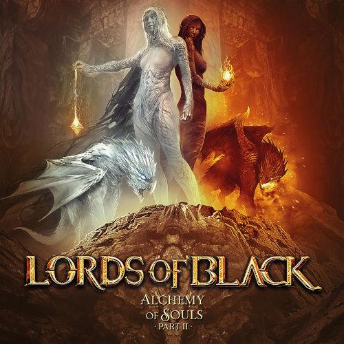 """Das Cover von """"Alchemy Of Souls Part II"""" von Lords Of Black"""