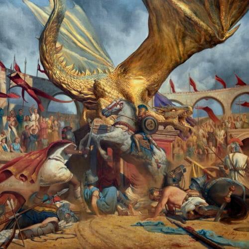 """Das Cover von """"In The Court Of The Dragon"""" von Trivium"""