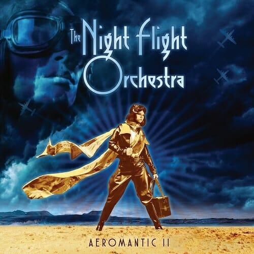 Cover - The Night Flight Orchestra – Aeromantic II