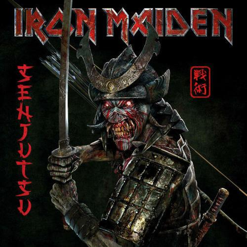 """Das Cover von """"Senjutsu"""" von Iron Maiden"""