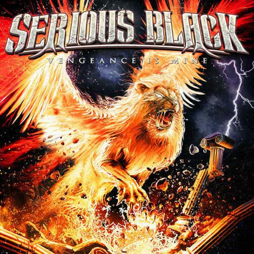 """Das Cover von """"Vengeance Is Mine"""" von Serious Black"""