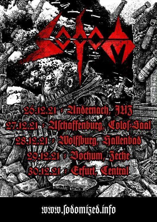 Sodom Winter 2021 Tour Dates