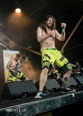 Stillbirth live auf dem Meh Suff Festival 2021