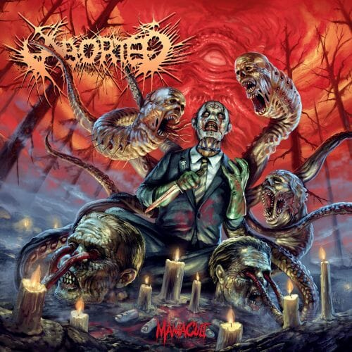 Cover - Aborted – ManiaCult