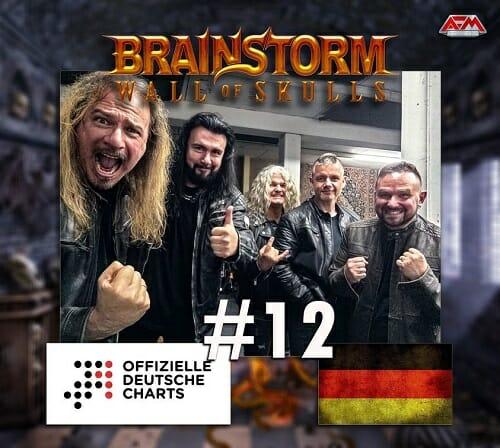 Brainstorm Wall Of Skulls Albumcharts
