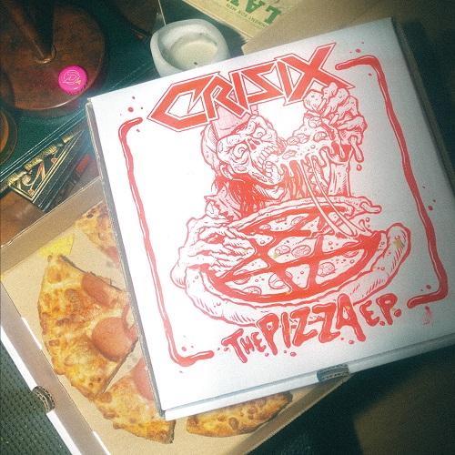Cover - Crisix – The Pizza E.P. (EP)