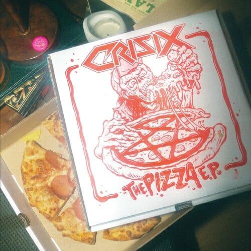 Crisix The Pizza EP Coverartwork