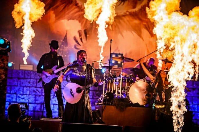 Feuerschwanz Die letzte Schlacht Bandfoto Live