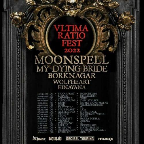 Moonspell Tour 2022