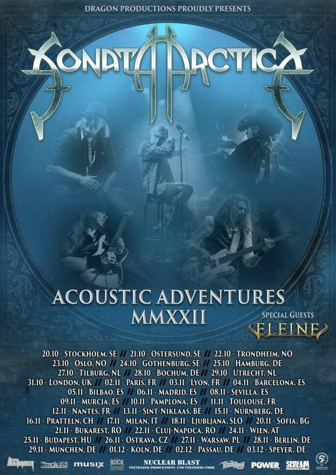 Sonata Arctica Acoustic Adventures Tour MMXXII
