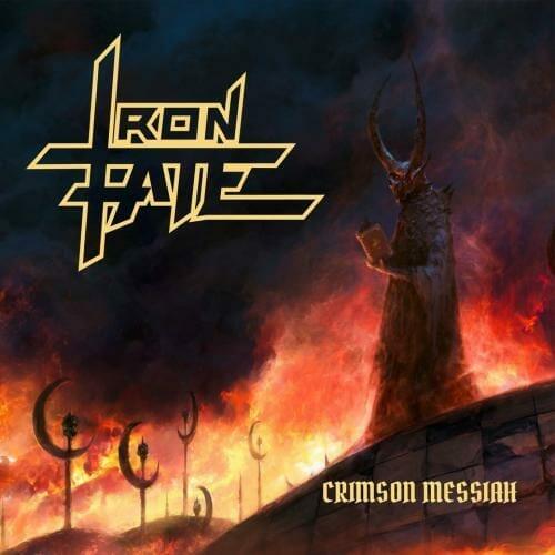 """Das Cover von """"Crimson Messiah"""" von Iron Fate"""