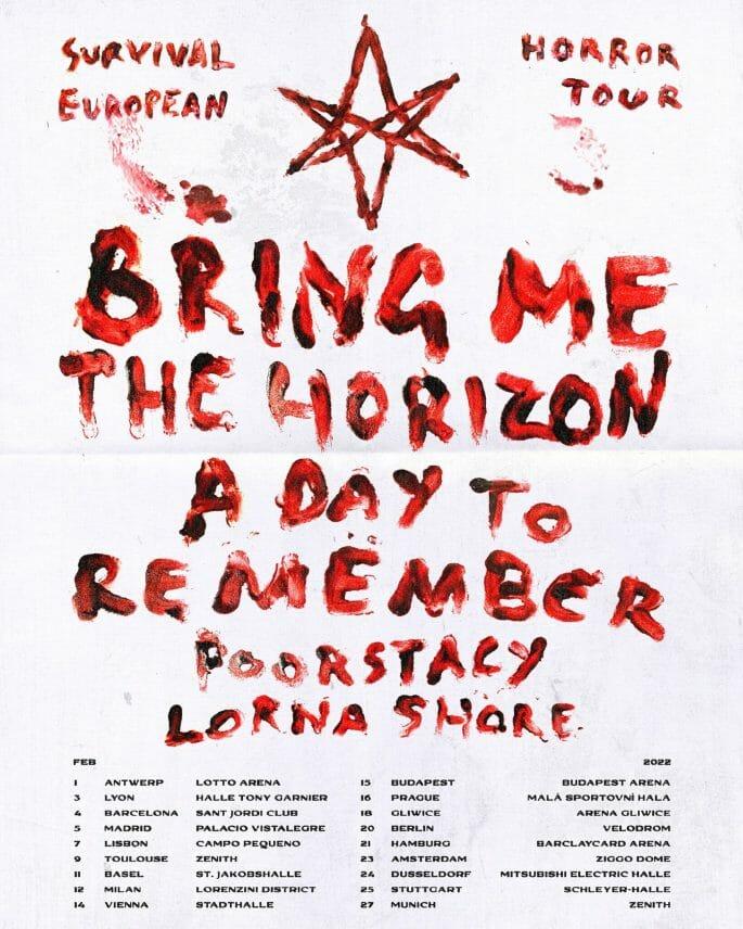 Bring Me The Horizon Tour 2022