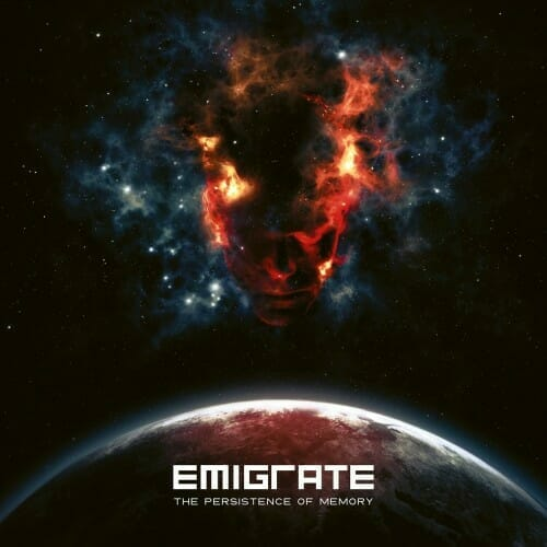 Cover-Artwork des Albums The Persistence Of Memory der Band Emigrate