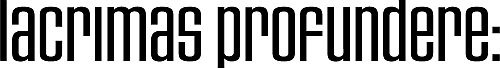Lacrimas Profundere Logo transparent