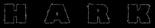 Hark logo bandcamp black