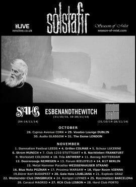 Solstafir Tour