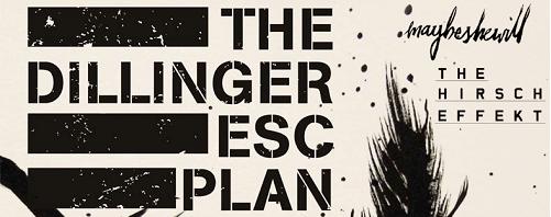 dillinger escape plan tour