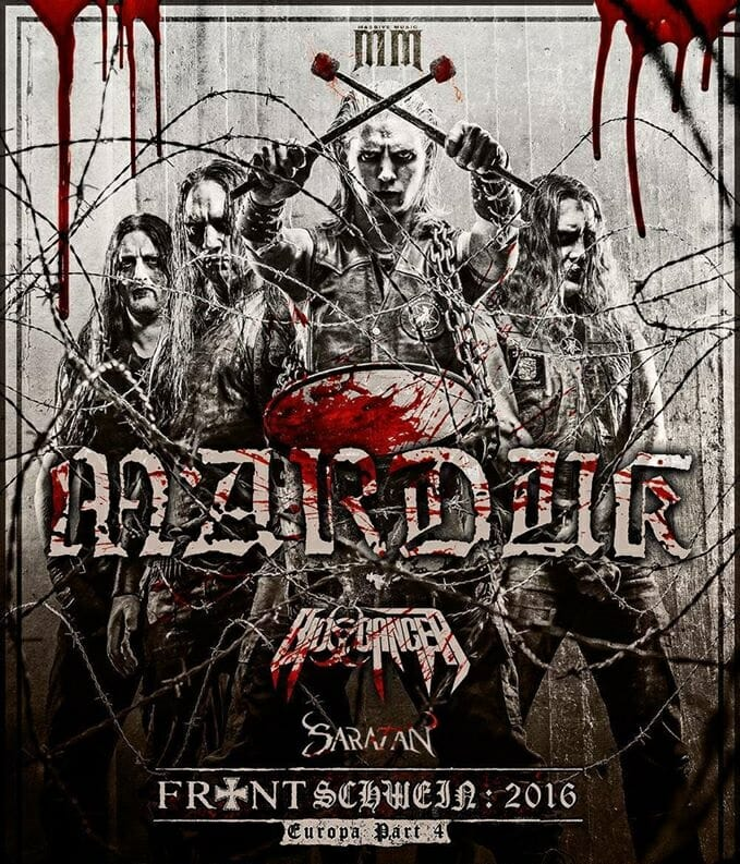 Marduk Frontschwein Tour