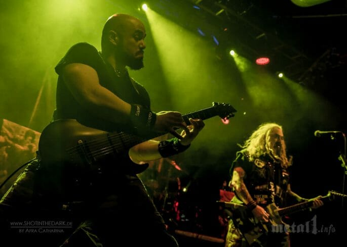 Marc Rizzo live mit SOULFLY
