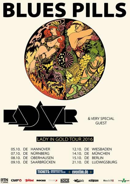 blues pills kadavar tour 2016