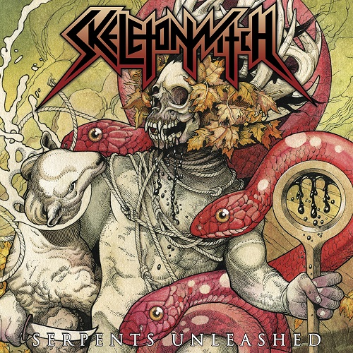 Skeletonwitch - Serpents Unleashed - Cover