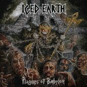 Iced Earth - Plagues Of Babylon - CD-Cover