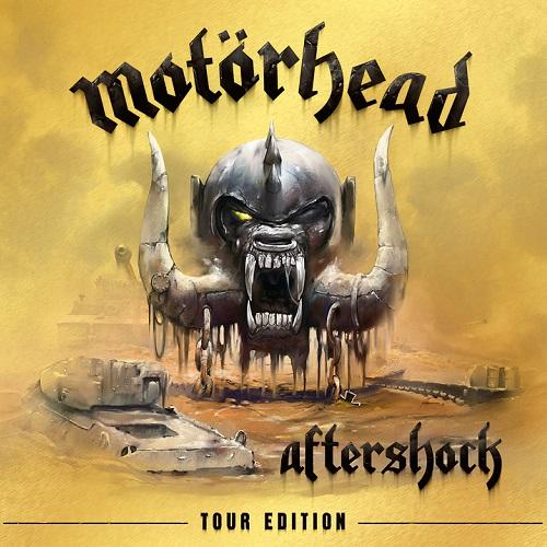 Motörhead - Aftershock (Tour Edition) - Cover