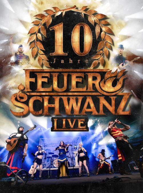 Feuerschwanz - 10 Jahre Feuerschwanz (DVD) - Cover
