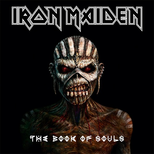 Iron Maiden - The Book Of Souls - Cover