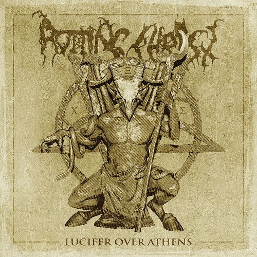 Rotting Christ - Lucifer Over Athens - Cover