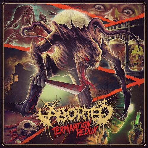 Aborted - Termination Redux (EP) - Cover