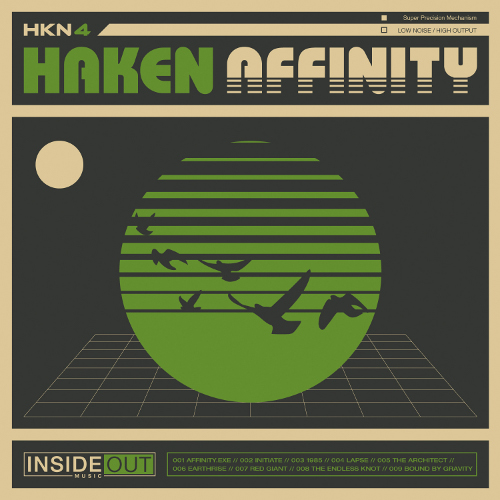 Haken - Affinity - Cover