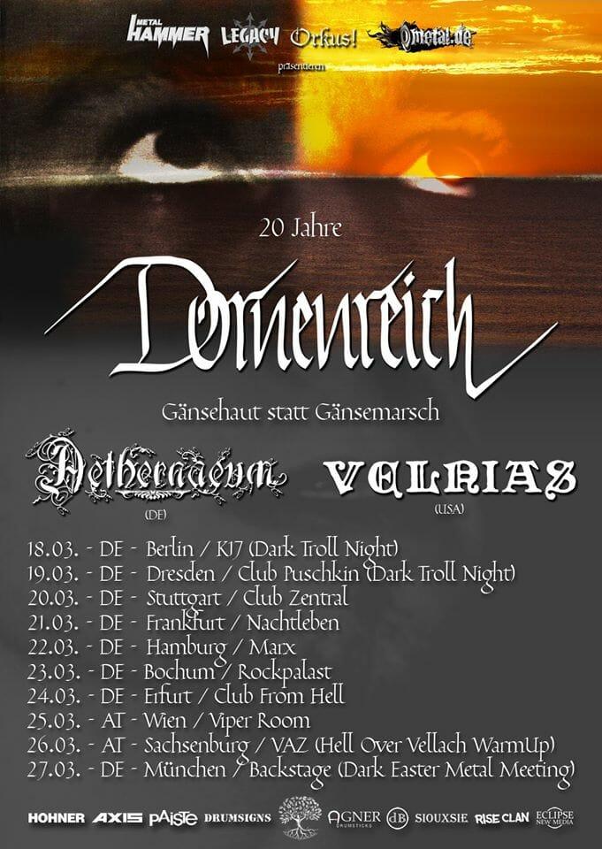 Dornenreich Tour Flyer